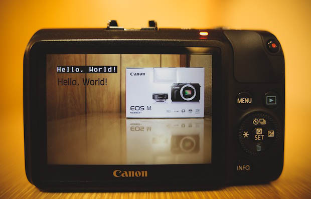 Canon EOS M Hacked by Magic Lantern, Firmware Boosts on the Way magiclanterneosm
