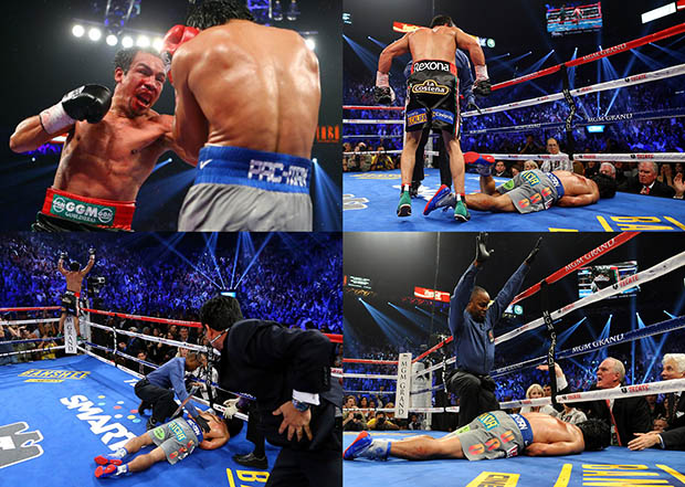Boxing Photographer Allegedly Assaulted for Snapping a Fallen Pacquiao albello1
