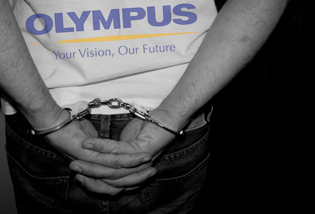 FBI Snags Banker in the US in Connection with the Olympus Accounting Scandal olympusscandalarrest