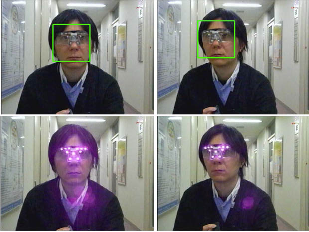 Anti Photography Glasses Prevent Facial Recognition from Doing Its Thing facedetectglass2