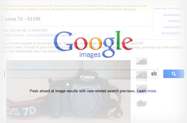 Use Reverse Image Search Engines To Avoid Online Scams googlecraigslist