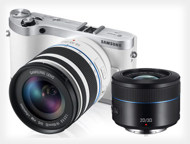 Samsung Announces 3D Capable NX300 and Worlds First One Lens 3D System samsung3dlens