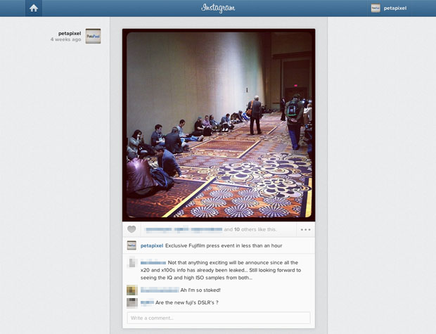 Instagram Brings Photo Feeds to the Web After Two Years of Being Mobile Centric instagramfeed