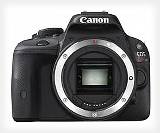First Leaked Photos of the Ultra Portable Canon EOS b/Kiss X7 canoneosb1