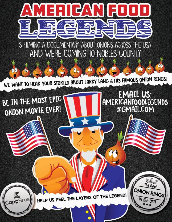 American Food Legends Brochure