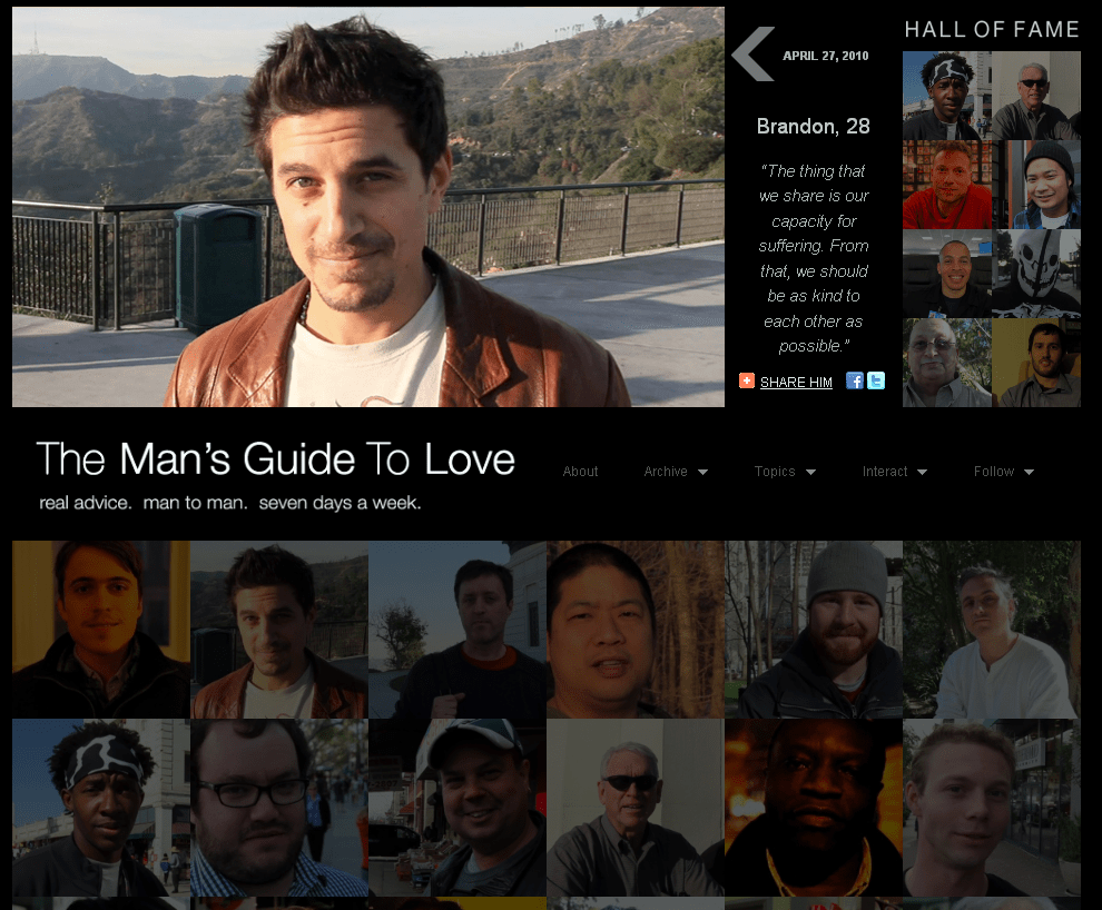 The Man's Guide to Love