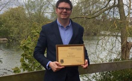 Shrewsbury web company wins gold at Mayor of Shrewsbury awards