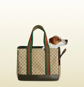 Gucci Dog Tote Bag