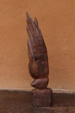 Wood sculpture, 2011