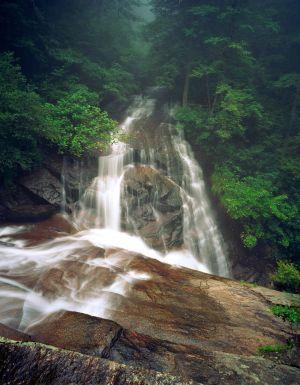 Waterfall, Conastee Falls, NC