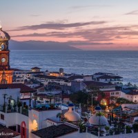 Puerto Vallarta Dusk and Dawn