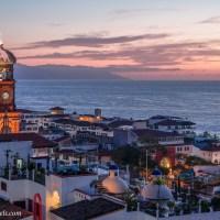 Puerto Vallarta Dusk and Dawn