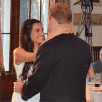 Wedding Photos: Loreley and Benjamin at the Oneida Community Mansion House, 4/17/15
