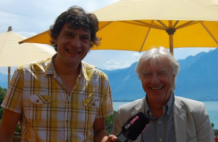 Emil ist in Montreux rundum glücklich (Bild: Tiziana Cafagna).