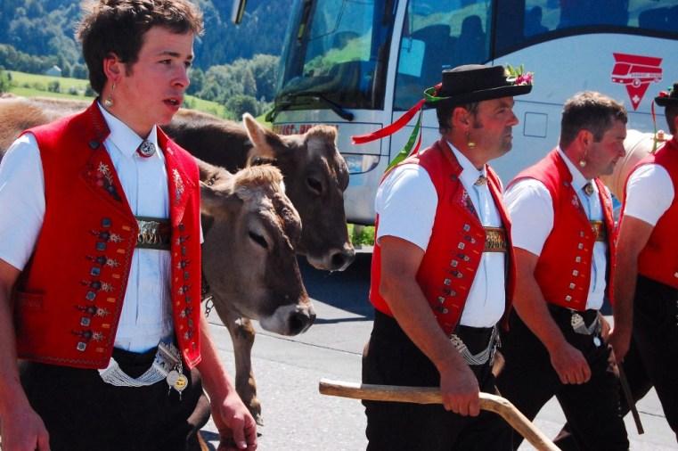 Sie lieben die Traditionen, die Appenzeller (Bild: Peter Walt).