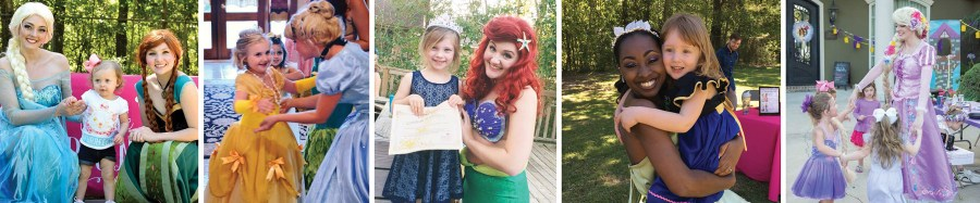We are dedicated to providing fun and magical parties and events for your little princesses.