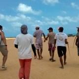 A exploração e a venda de iguanas nas dunas são crimes antigos  - Foto: Polícia Civil RN