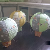 Nursery Hot Air Balloon Decor DIY