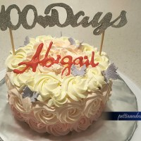 100 Day Celebration Cake for my baby girl