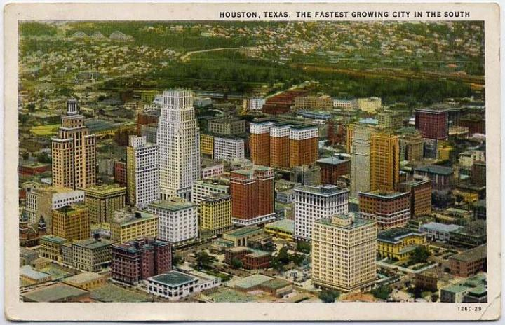 Houston 1922 Postcard | pettydesign