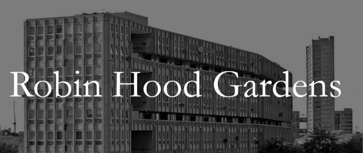 Robin Hood Gardens | James Petty | pettydesign