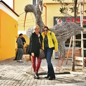 Fashion girls in tirana  patriziafinuccigallo pfgstyle dandylife fashionable fashionistahellip