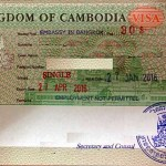 My today's Cambodia visa took me a nice two-hours-tour around Bangkok and a record time of five minutes at the embassy to get it pasted into my passport.