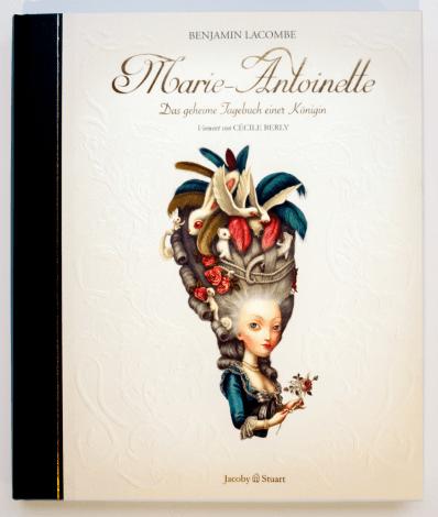 Benjamin Lacombe_Marie-Antoinette