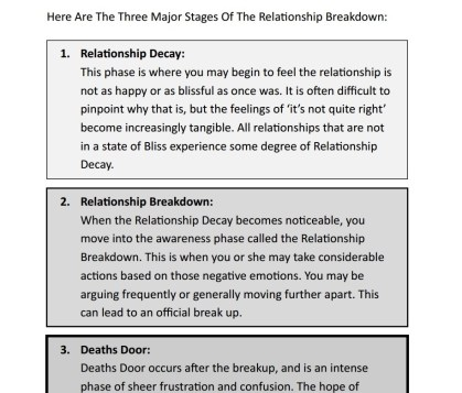 Relationship Stages