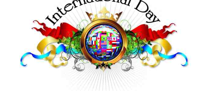 International Days and a question about what makes them special…
