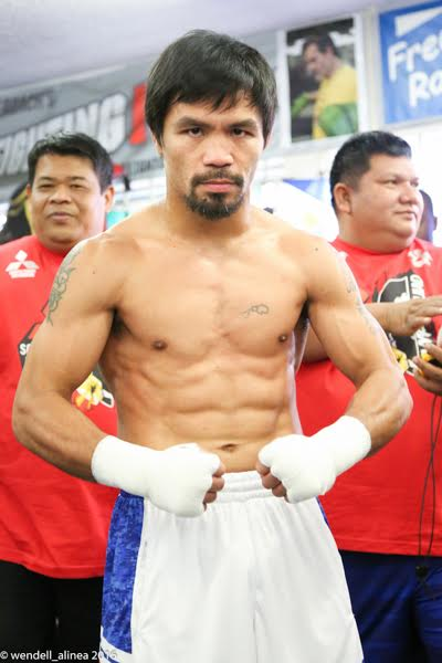 PACQUIAO for front page