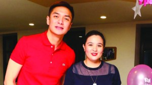 Sunshine Dizon and husband Timothy