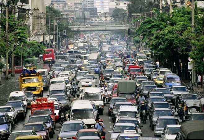 traffic-in-manila
