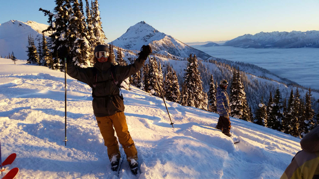 Revelstoke Mountain Resort, BC, Canada.