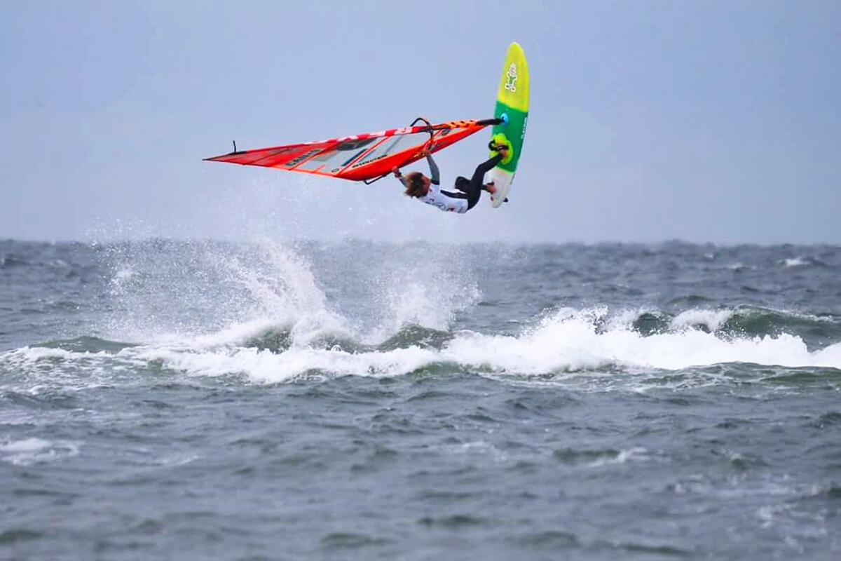 Phil Soltysiak Backloop in Sylt, Germany