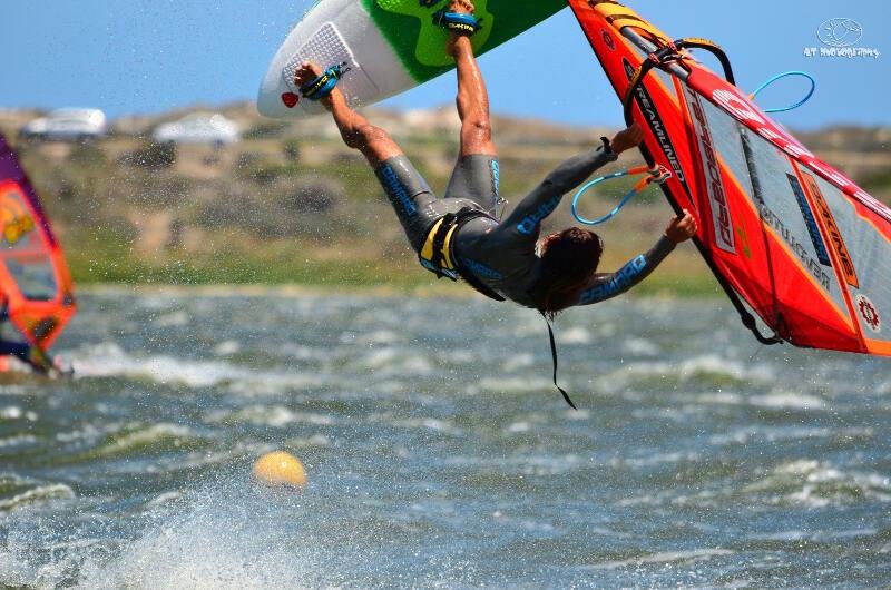 The lakes get pretty windy! Mid-Kabikuchi! Photo by Adrian Tregoning.