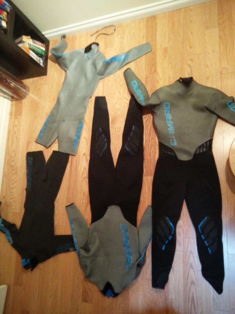 Wetsuits for 3 months on the road