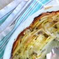 cheesy gratin