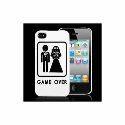 Coque GAME OVER pour iPhone 4 et 4S