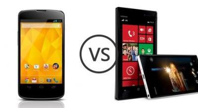 LG Nexus 4 E960 vs Nokia Lumia 928 - Phone Comparison