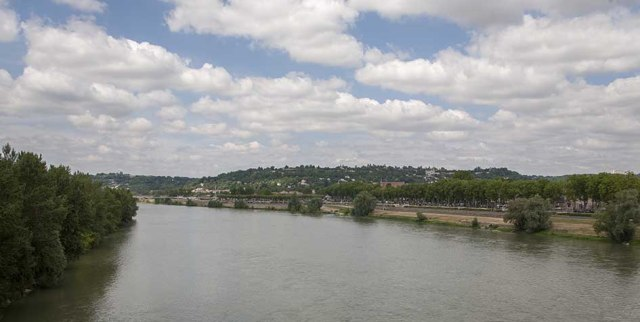La Garonne à Agen