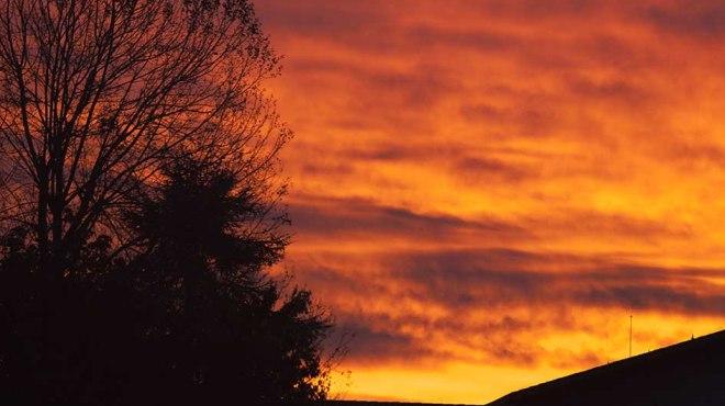 Photo semaine 43- Lever de soleil à Agen    ©photo Patrick Clermont