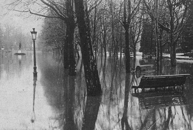 innondation 1930 gravier ©photo archive Patrick Clermont