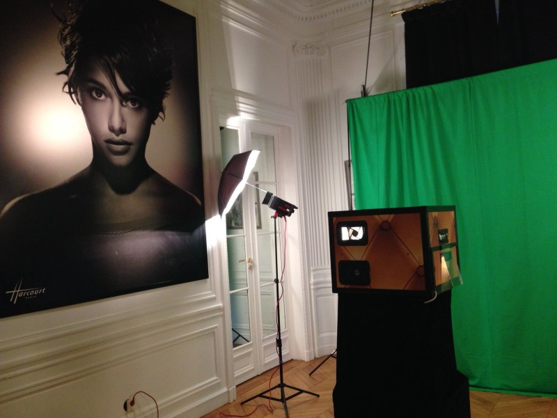 photobox fond vert