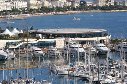 The exhibition centre in Cannes