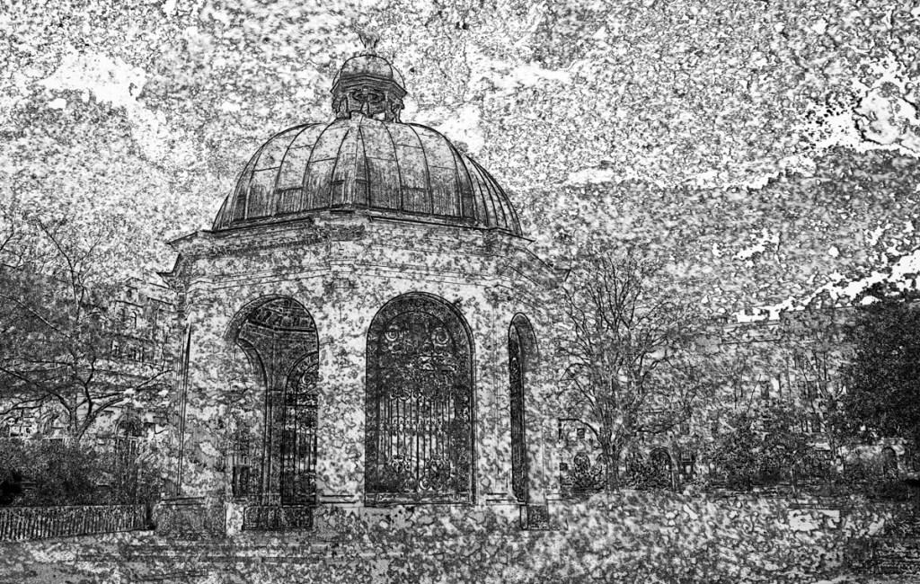 wiesbaden : impressionen 3 – steinstruktur (photo art edition)