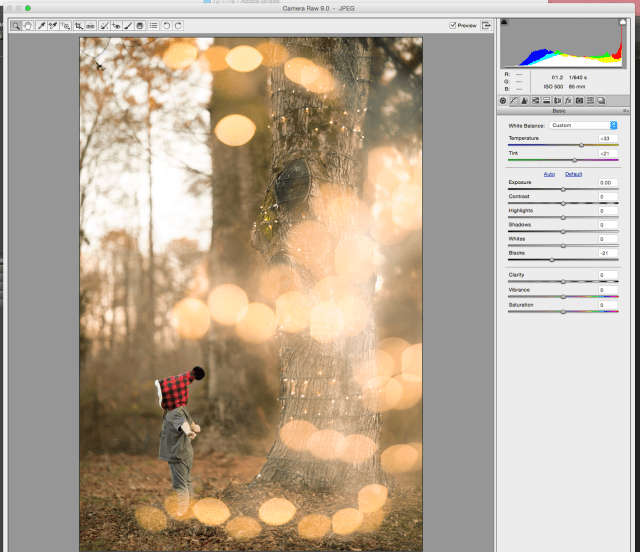 creating bokeh effect