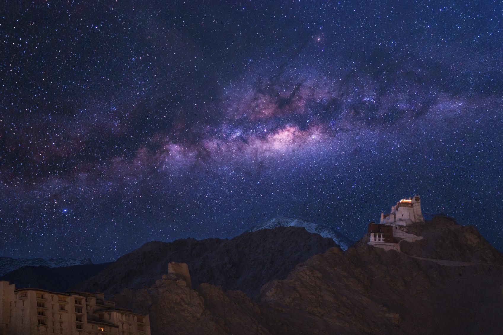 Foto della Via Lattea che ti ispireranno