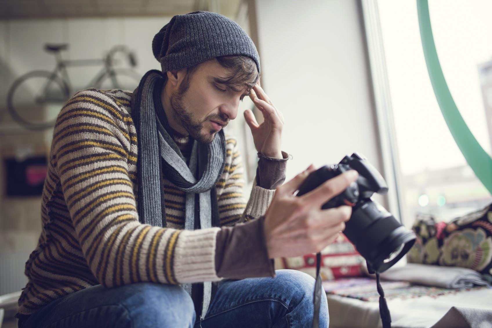 I 4 errori più comuni commessi dagli aspiranti fotografi