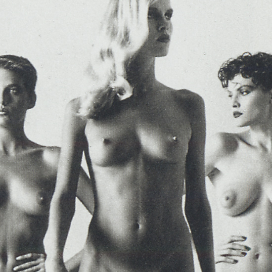 Helmut Newton - They Are Coming - detail